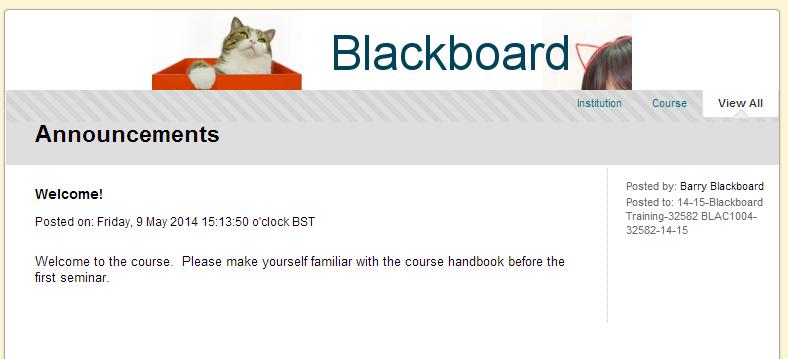 Upload Course Banner