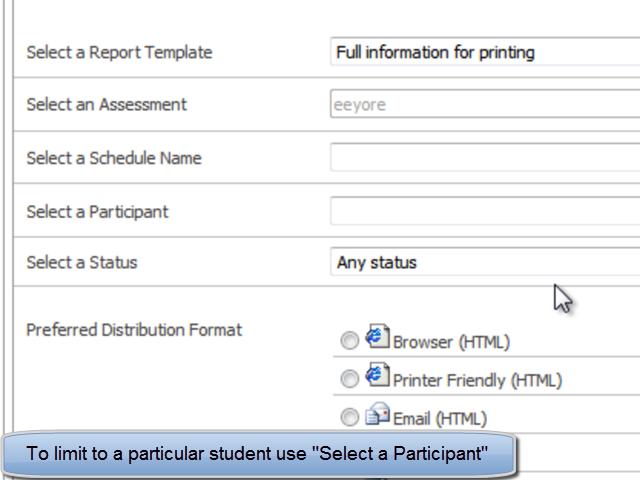 Select Participant