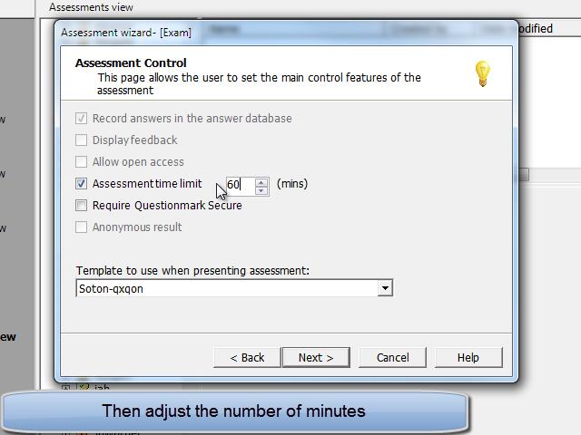Adjust minutes