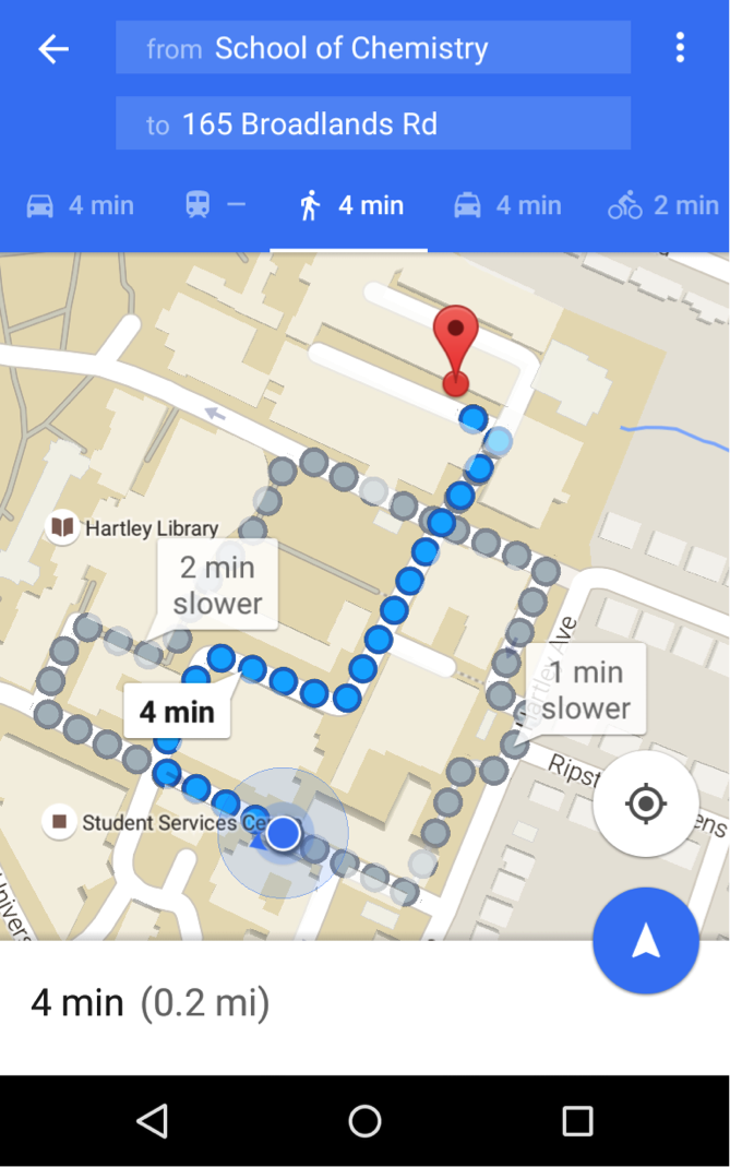 How to use Campus Maps for GPS directions – eLearning Support and