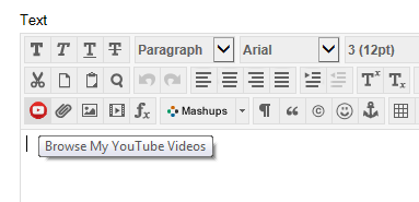 Inserting Personal/Unlisted YouTube videos – eLearning