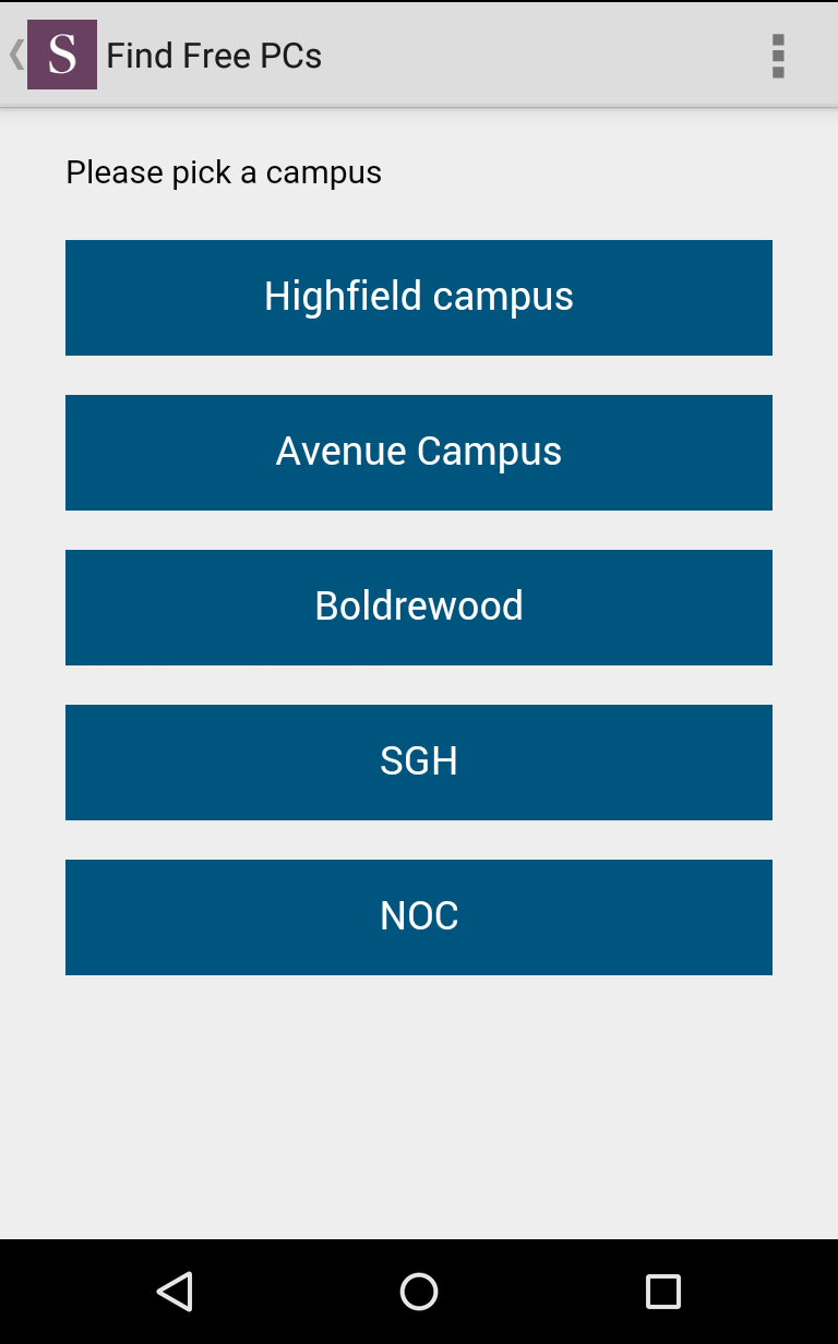 Description. Welcome to the official mobile application of the University of Southampton. Features: • Search our maps for University buildings, locations and free computersPrice: 0.