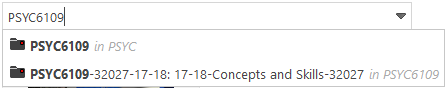 PSYC6019 in PSYC, PSYC6109-32027-17-18 in PSYC6109
