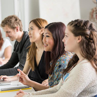 University of Southampton Students (stock photo)